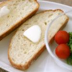 手作りパンで朝ごはん