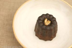 シェ・リュイのメープル風味のカヌレ