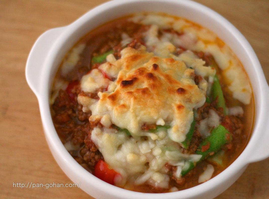 野菜のミートソースグラタン